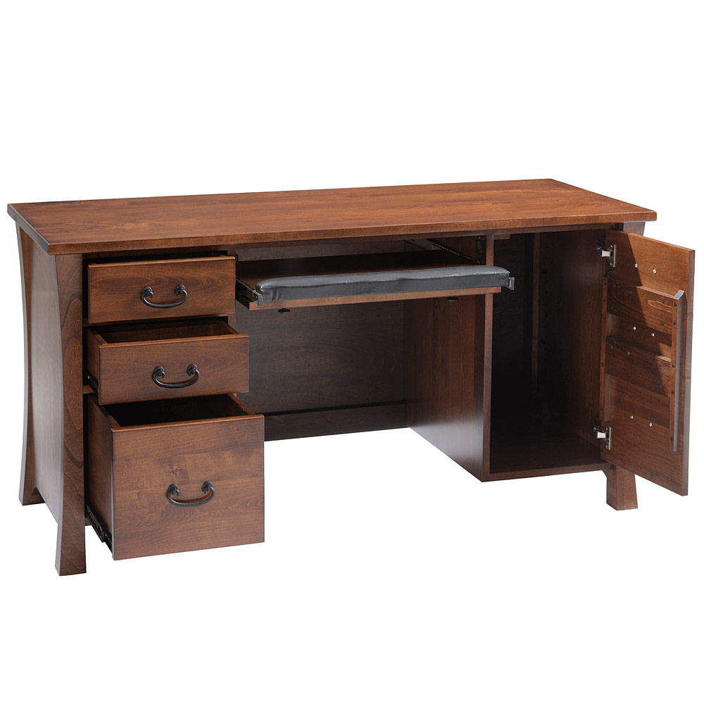 Solid Wood puter Desk Desk Home fice Desk