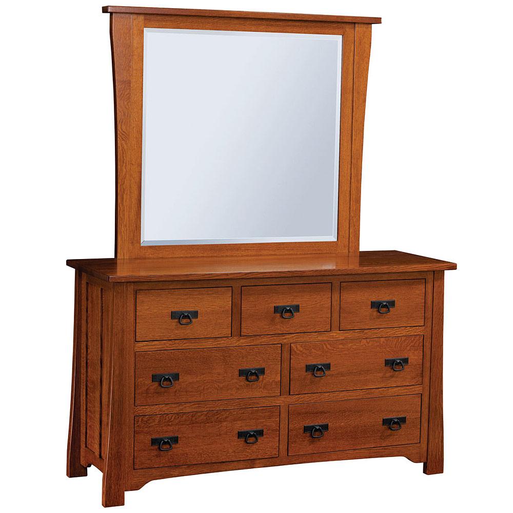 Linden Street Amish Dresser Bedroom Furniture Cabinfield Fine