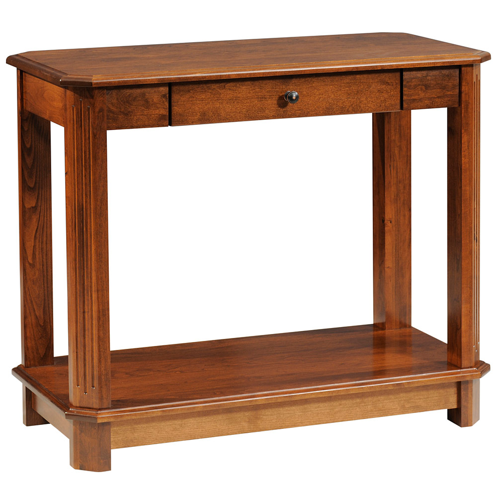 Sofa Table: Amish Mission Style Craftsman Solid Wood Living Room ...