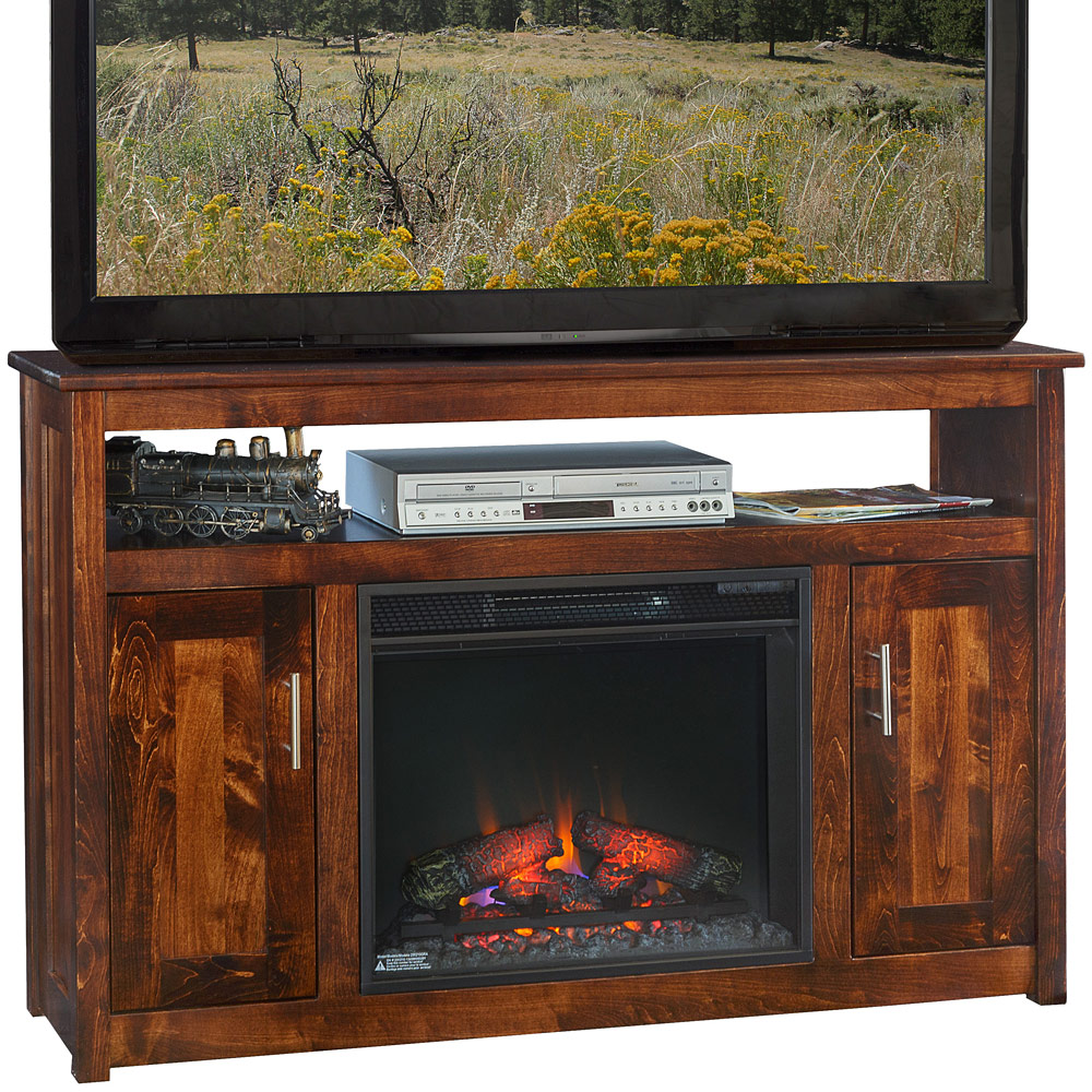 Fireplace Media Stands Wall Units Hanover Fireplace TV Cabinet